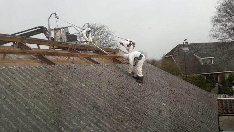 Auto Pol dak vervangen